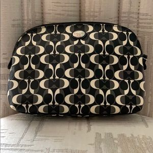 Coach Mid-size Make Up Pouch